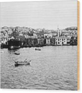 View Of Tophane - Istanbul - From The Sea - Turkey Wood Print