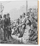 Vigilante Court, 1874 Wood Print by Granger