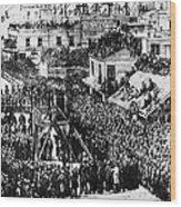 Vigilante Lynching, 1856 Wood Print