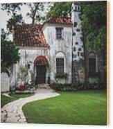 Villa Girasol Wood Print