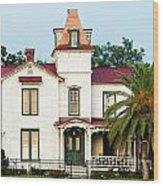 Villa Villekulla The Pippi Longstocking House Amelia Island Florida Wood Print