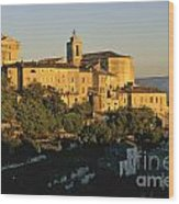 Village De Gordes. Vaucluse. France. Europe Wood Print