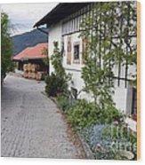 Village In Tyrol Wood Print