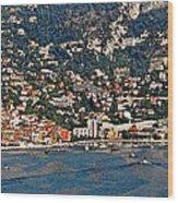 Villefranche Hillside II Wood Print