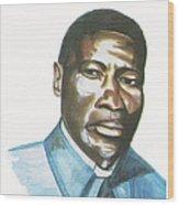 Vincent Mulago Wood Print