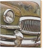 Vintage 1951 Nash Ambassador Front End 2 Wood Print