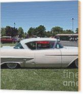 Vintage 1957 Cadillac . 5d16686 Wood Print