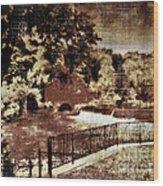 The Red Mill  Bucks County Nj  Wood Print