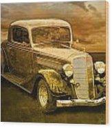 Vintage Automobile No.007 Wood Print
