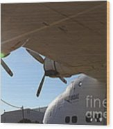 Vintage Boac British Overseas Airways Corporation Speedbird Flying Boat . 7d11286 Wood Print by Wingsdomain Art and Photography