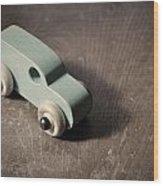 Vintage Car 1 Wood Print