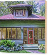 Vintage Craftsman Wood Print