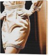 Vintage Fashion  Wood Print