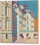Vintage French Travel Poster Wood Print