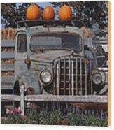 Vintage Harvest Wood Print
