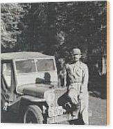Vintage Jeep Wood Print