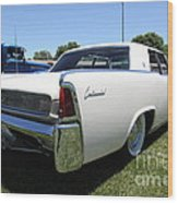 Vintage Lincoln Continental . 5d16675 Wood Print