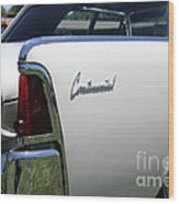 Vintage Lincoln Continental . 5d16676 Wood Print