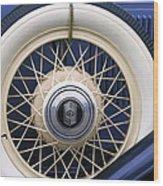 Vintage Nash Tire Wood Print