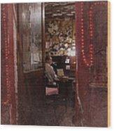 Vintage Paris 2 Wood Print