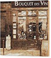 Vintage Paris 4 Wood Print