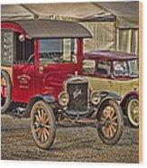 Vintage Wood Print