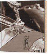 Vintage Rolls Royce 1 Wood Print