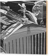Vintage Rolls Royce 2 Wood Print