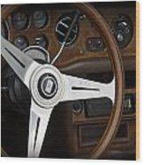 Vintage Rolls Royce Dash Wood Print