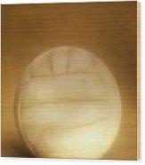 Vintage Soccer Ball Wood Print