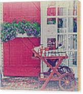 Vintage Store Wood Print