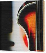 Violin Wood Print