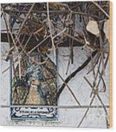 Virgin Mary Of Hope Wood Print