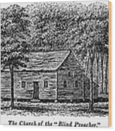 Virginia: Church Wood Print