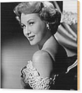 Virginia Mayo, Ca. Early 1950s Wood Print by Everett