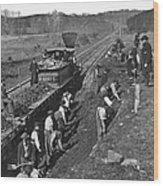 Virginia: Railroad, C1861 Wood Print
