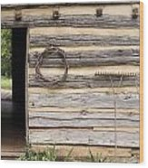 Virginia Structure Wood Print by Denice Breaux