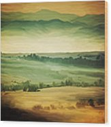 Viridis Wood Print