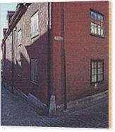 Visby Biograf - Movies Wood Print