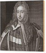 Viscount Bolingbroke, English Statesman Wood Print