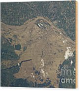 Vistula River Flooding, Southeastern Wood Print by NASA/Science Source