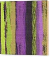 Visual Cadence V Wood Print