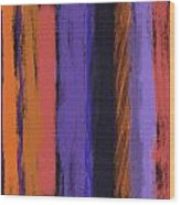 Visual Cadence Vii Wood Print