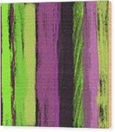Visual Cadence Viii Wood Print