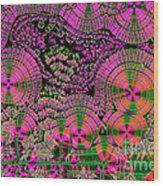 Vitamin C Crystals Spikeberg Wood Print