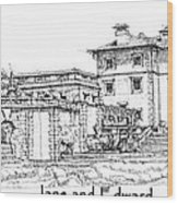 Vizcaya For Jane And Edward Wood Print