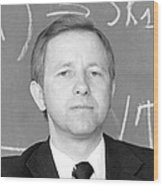Vladimir Platonov, Soviet Mathematician Wood Print