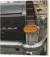 Volga Old Car Wood Print