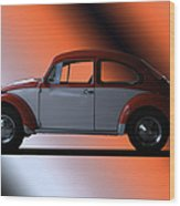 Volkswagon Bug Wood Print