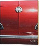 Volkswagon Karmann Ghia . 7d15469 Wood Print